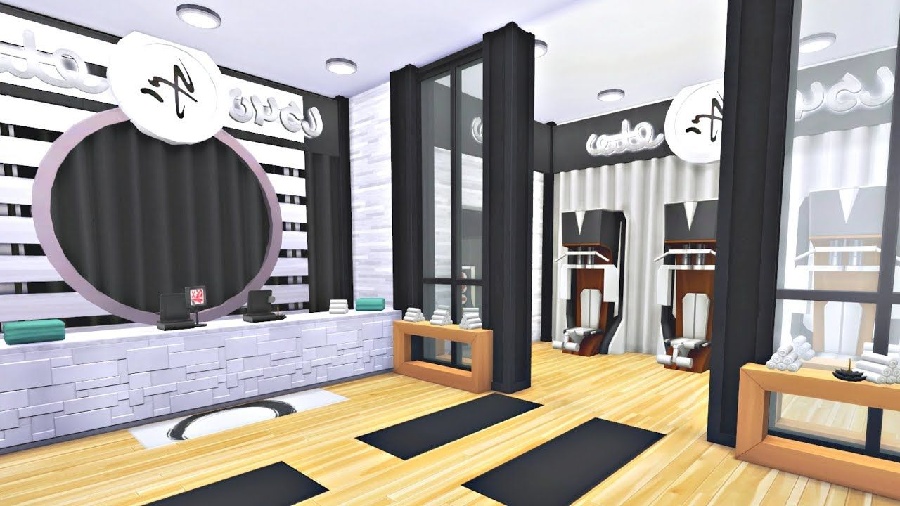 Esszimmer Sims 4 Fitness Studio Sims 4 Speed Build Simproved Youtube Videos