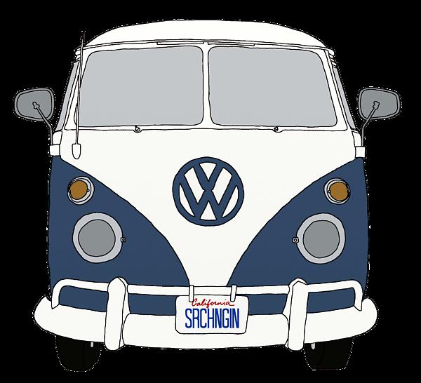 42+ Vintage vw bus clipart information