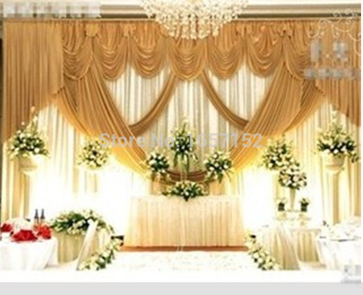Cheap backdrop wedding buy quality backdrop wedding for Background stage decoration
