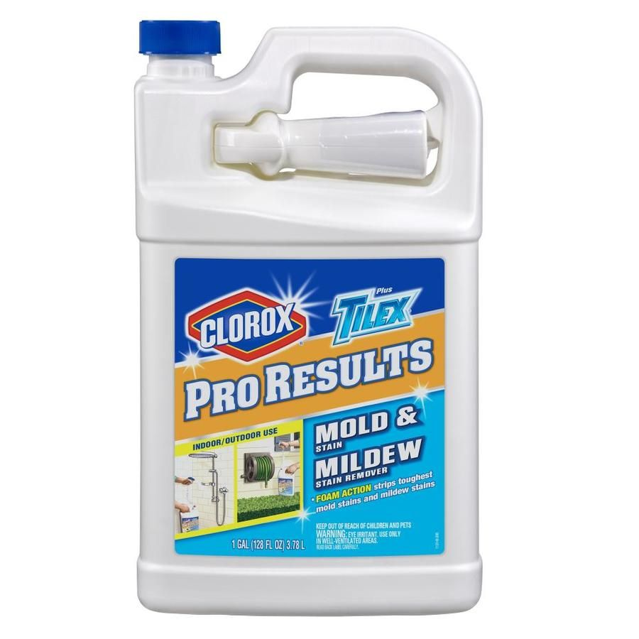 128 Fl Oz Liquid Mold Remover With Images Mold Remover Lowes Home Improvements Tough Stain