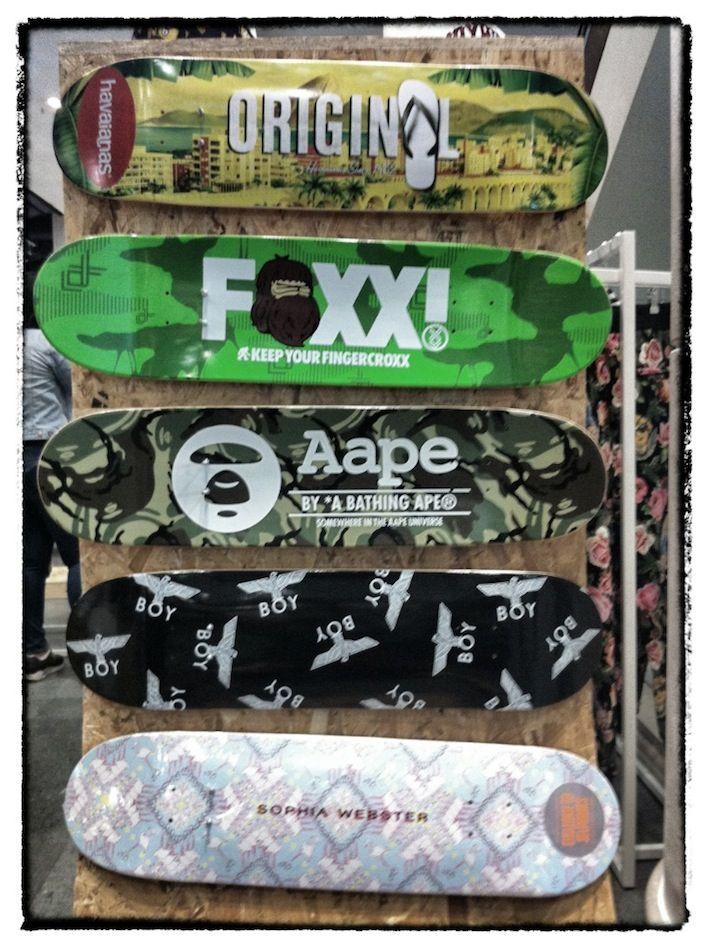 BathingApe Bape SkateBoard Decks Display Boy At Selfridges - Self taught woodworker turning old skateboards awesome sculptures