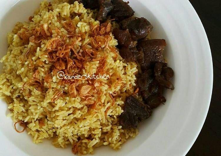 Resep Nasi Kebuli Sapi Oleh Xander S Kitchen Resep Makanan Dan Minuman Masakan Simpel Resep Masakan Asia