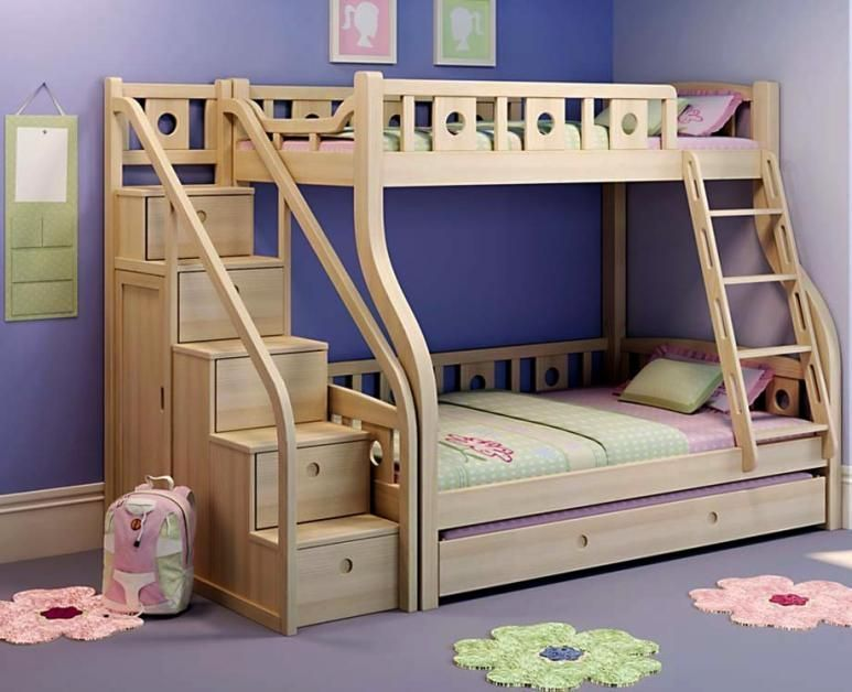 Diy Loft Bed Plans With Stairs And Desk Wonderful Bunk Diy Bunk