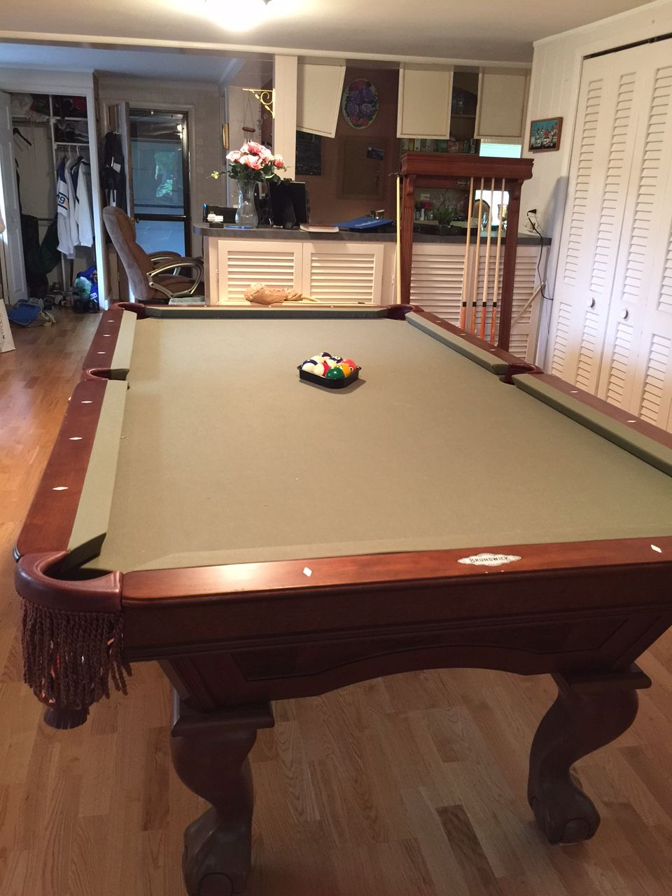 Brunswick Billiards Danbury Pool Table Sold Used Pool Tables - Brunswick brentwood pool table