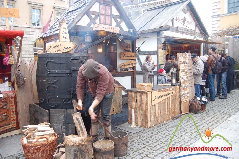 mittelalterlicher christkindlmarkt münchen