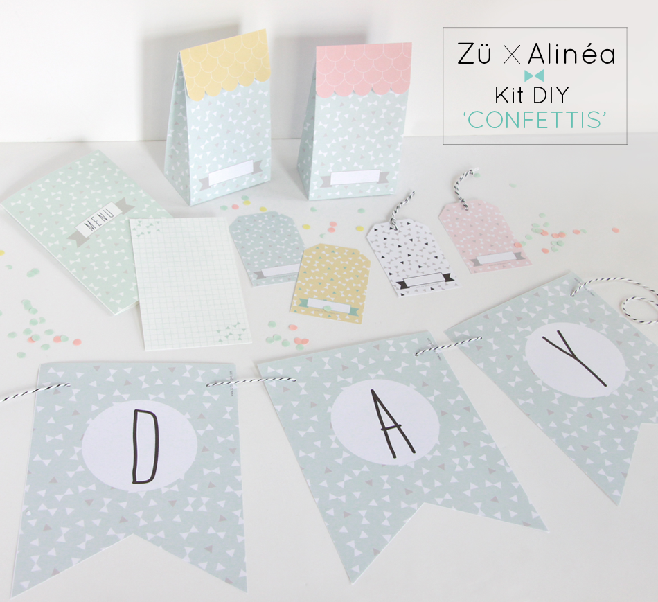 Zü To Print Table De Fete Invitation Anniversaire