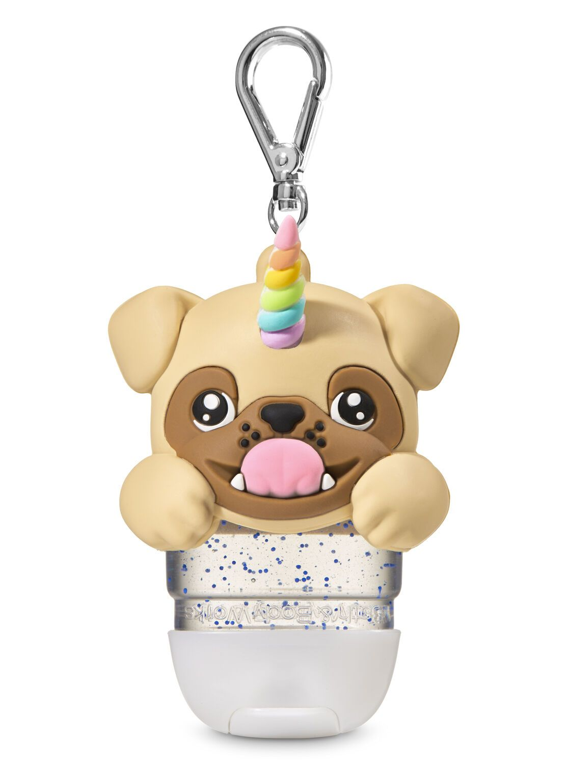 Pugicorn Light Up Pocketbac Holder Hand Sanitizer Holder Bath