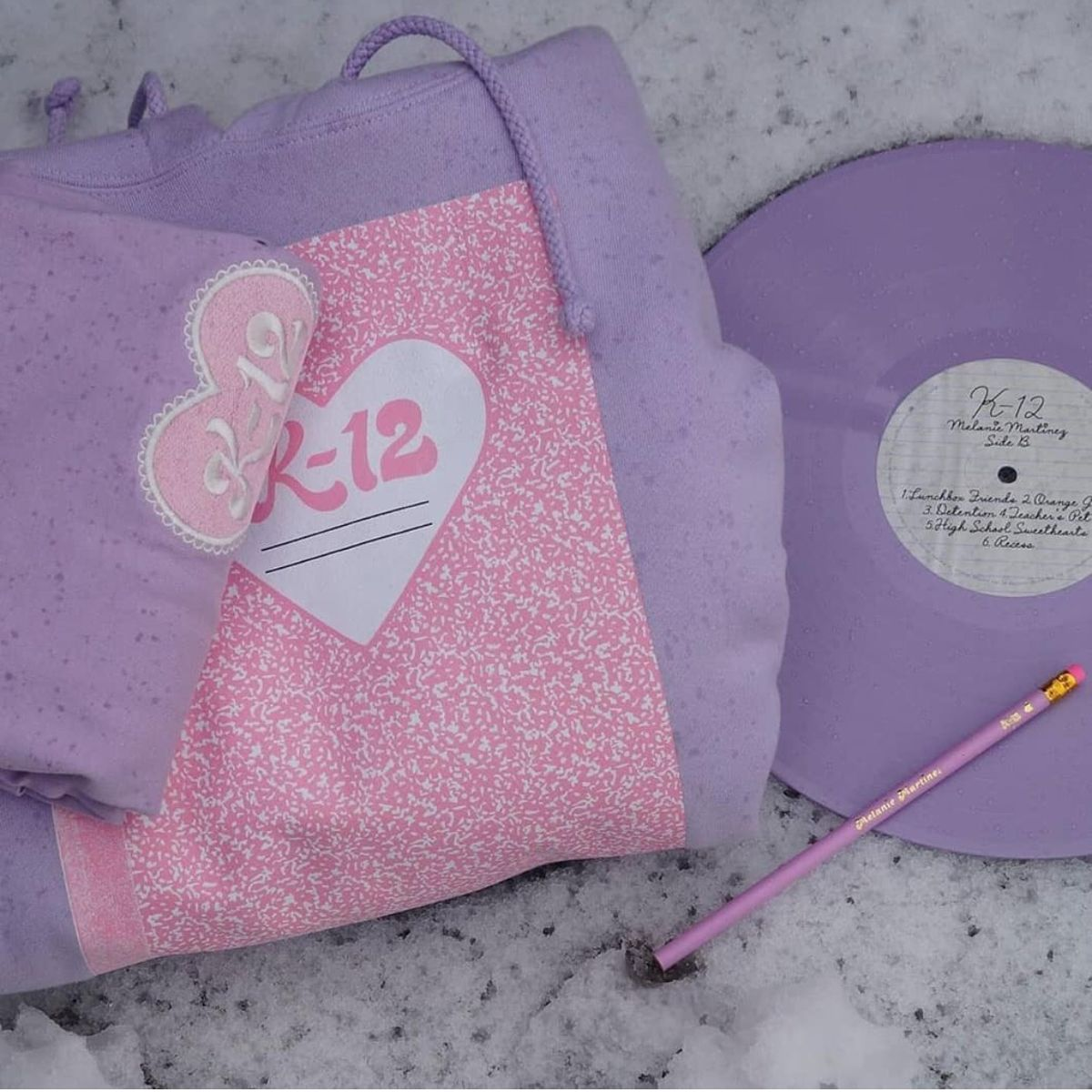The Lilac Vinyl Is So Cute Melanie Martinez Merch Melanie Martinez Melanie