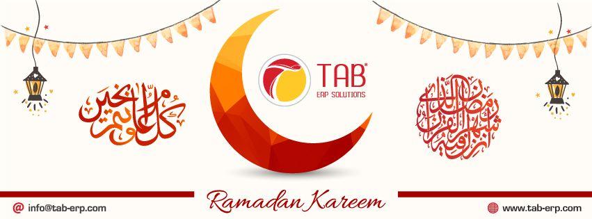 Ramadan Kareem تهنئكم شركة تاب بحلول شهر رمضان الكريم اعاده الله عليكم بالخير واليمن والبركات Ramadan Kareem Ramadan Letters