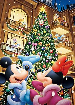 Felicitaciones De Navidad De Disney.Postal Navidena Navidad Dibujos Animados De Disney