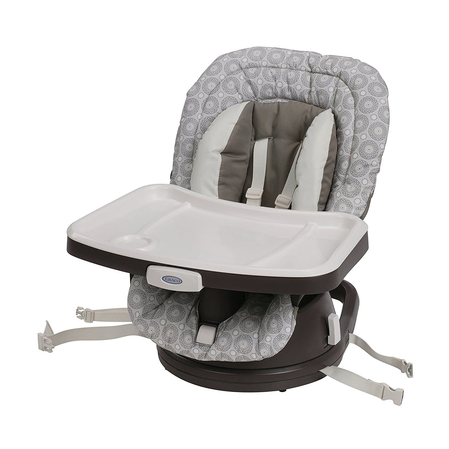 Charmant Graco Swivi Booster High Chair Seat 3 In 1, Abbington
