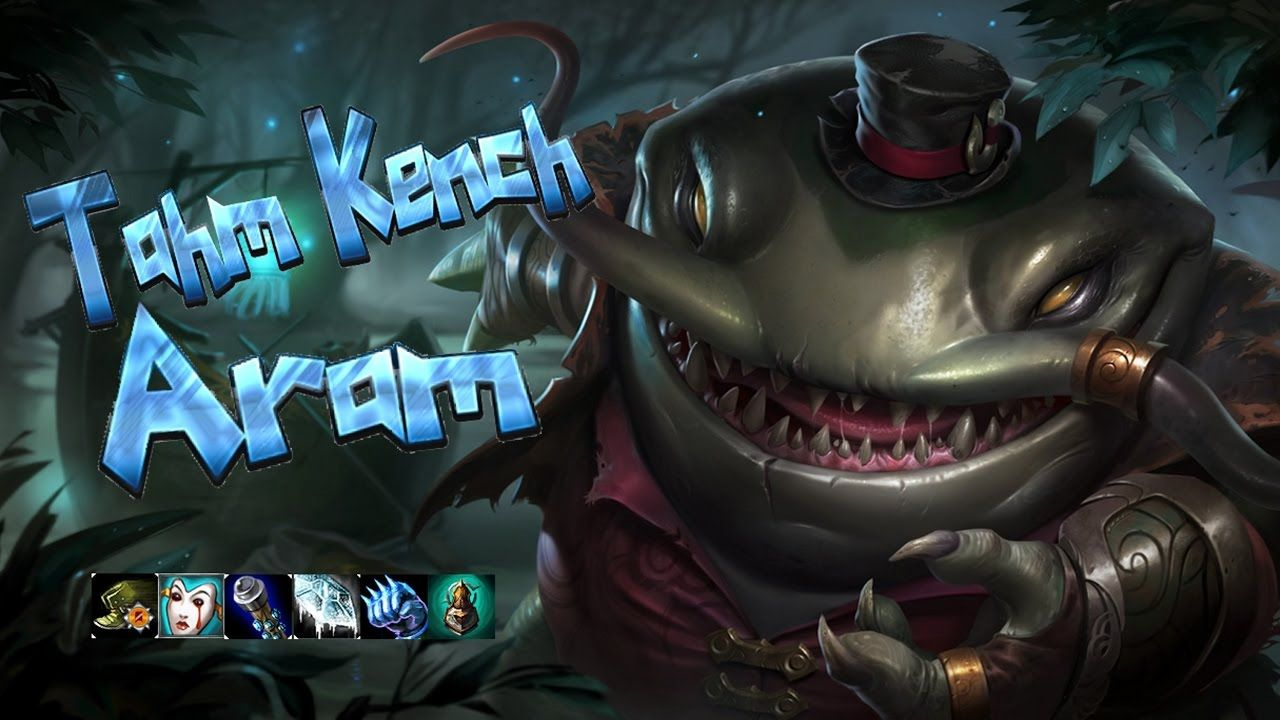 Tahm Kench ARAM - Ultimate Bravery | All My Videos | League