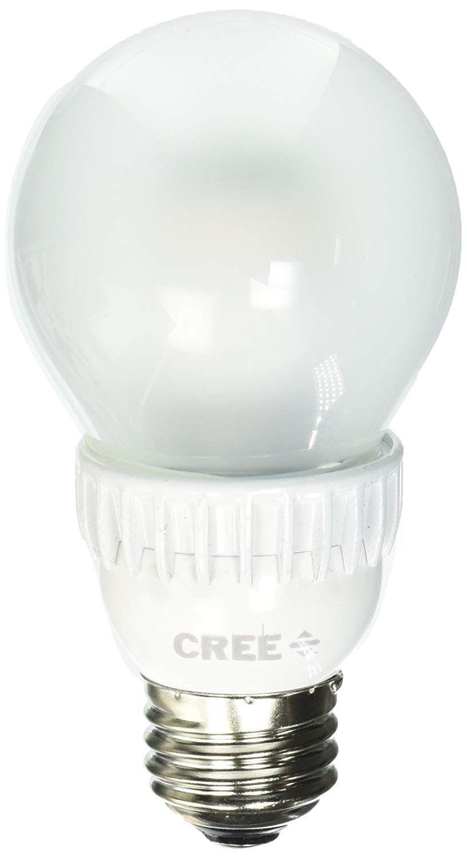 Daylight Led Bulbs: Cree BA19-04550OMF-12DE26-2U120 40W Equivalent 5000K A19