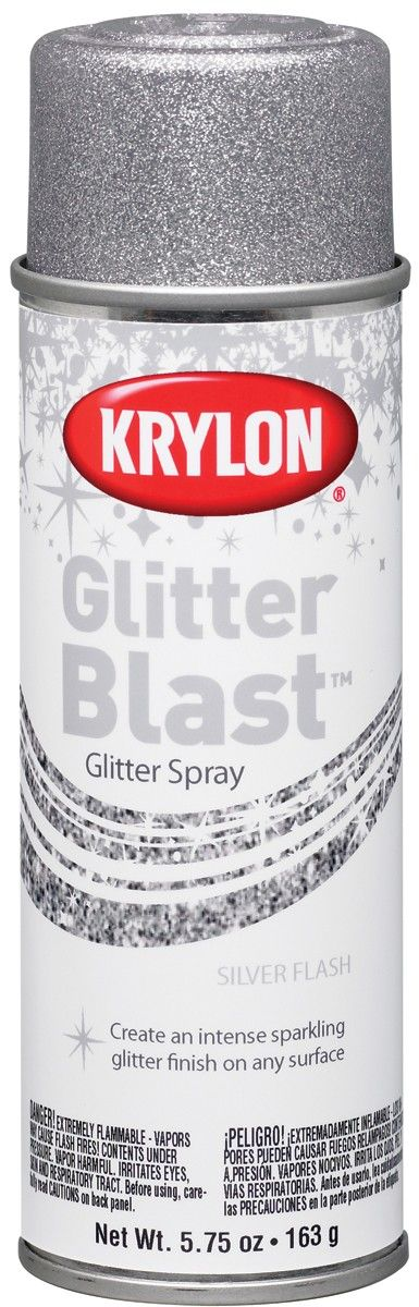 Glitter Spray Paint What Sarah