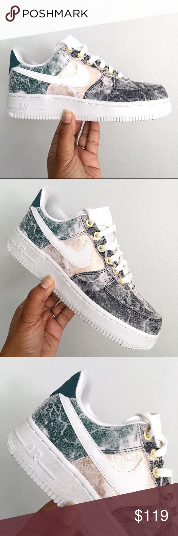 Nike Wmns Air Force 1 '07 LXX Low 'Summit White Oil Grey