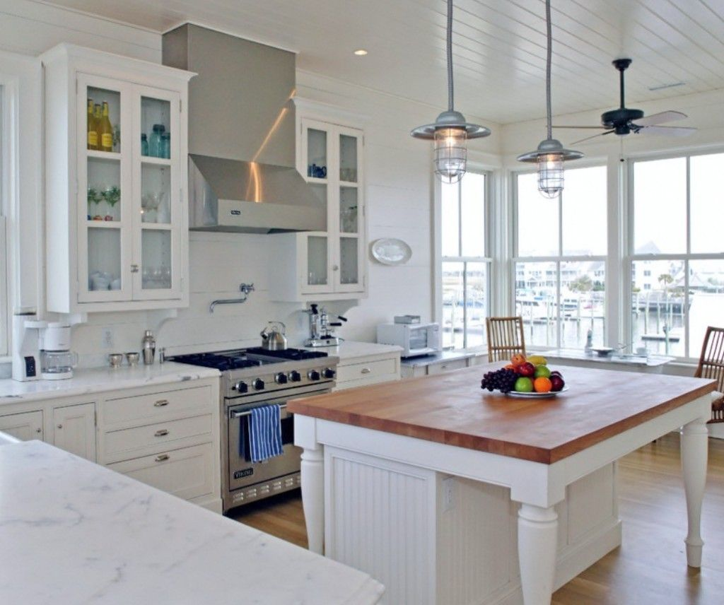 Rustic pendants add industrial style to coastal beach house rustic pendants add industrial style to coastal beach house industrial farmhouse aloadofball Images