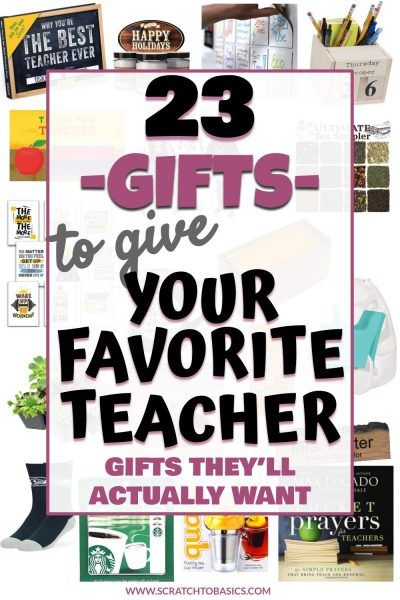 23 Thoughtful Christmas Gift Ideas For Your Favorite Teacher