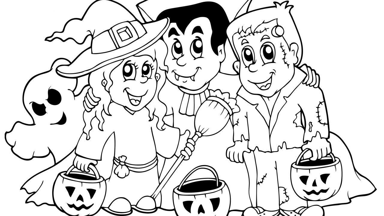 Dibujos de Halloween para colorear | Pinterest | Halloween para ...