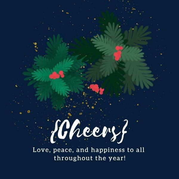 Online Dark Blue Christmas Card Template Make Christmas Card You Can Print Or Send Online As Ecard W Christmas Card Template Christmas Cards Blue Christmas