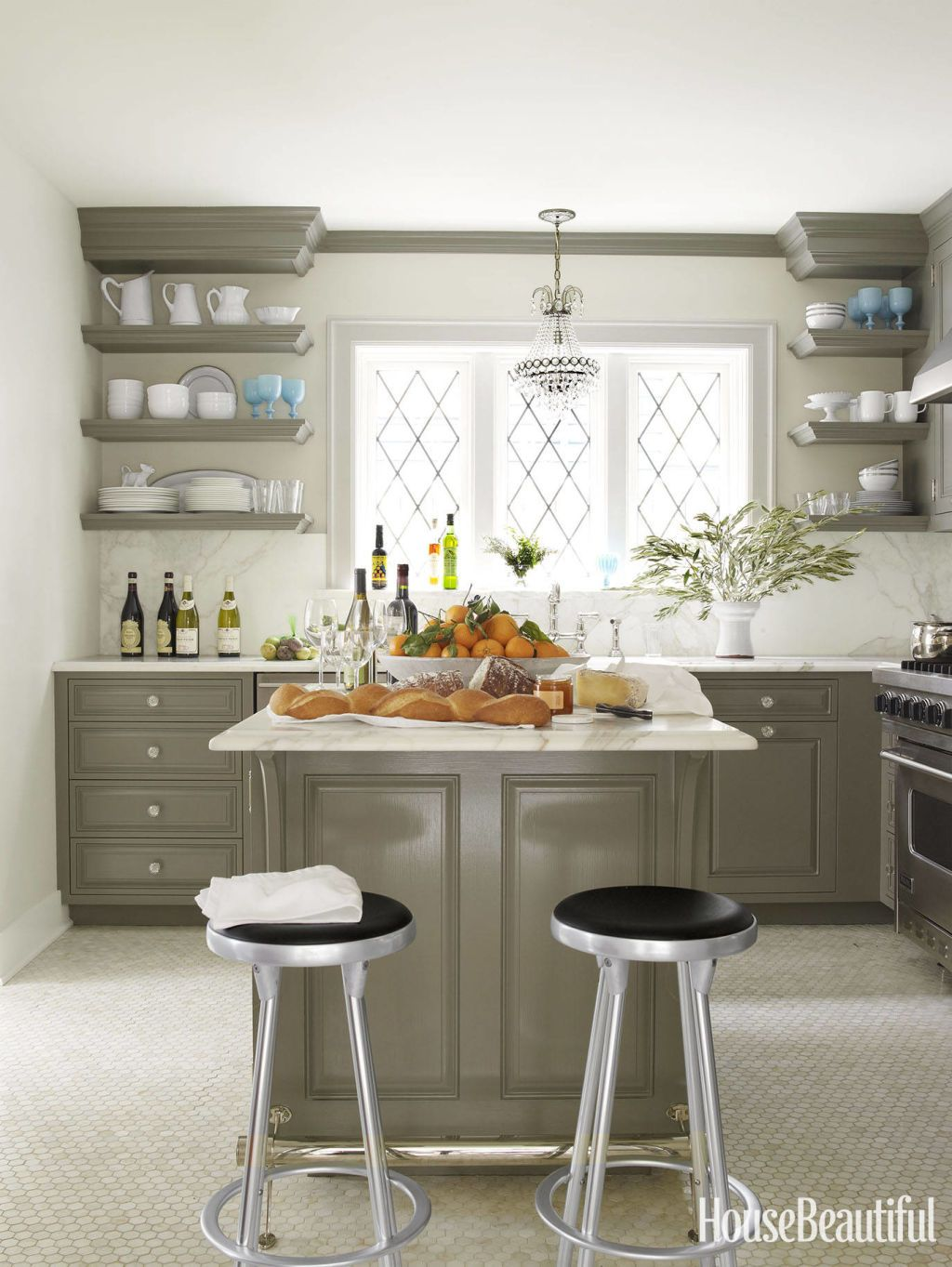 Removing Kitchen Cabinet Doors For Open Shelving Stylish Kitchen Kitchen Colors Kitchen Cabinet Colors