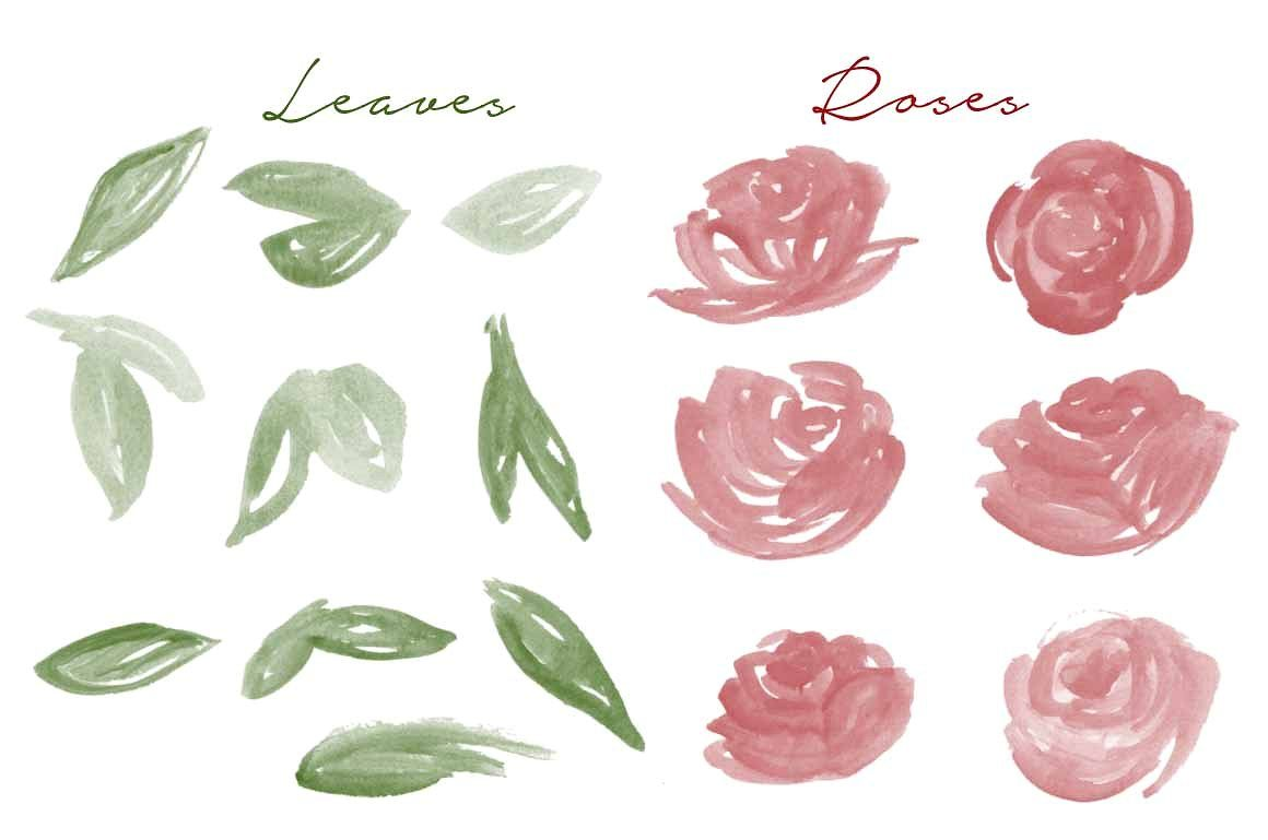 Watercolor Photoshop Brush Roses Photoshop Brushes Watercolor