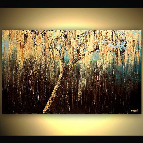 Weeping Willow Tree by Osnat Tzadok Art and Architecture - kunst fürs wohnzimmer