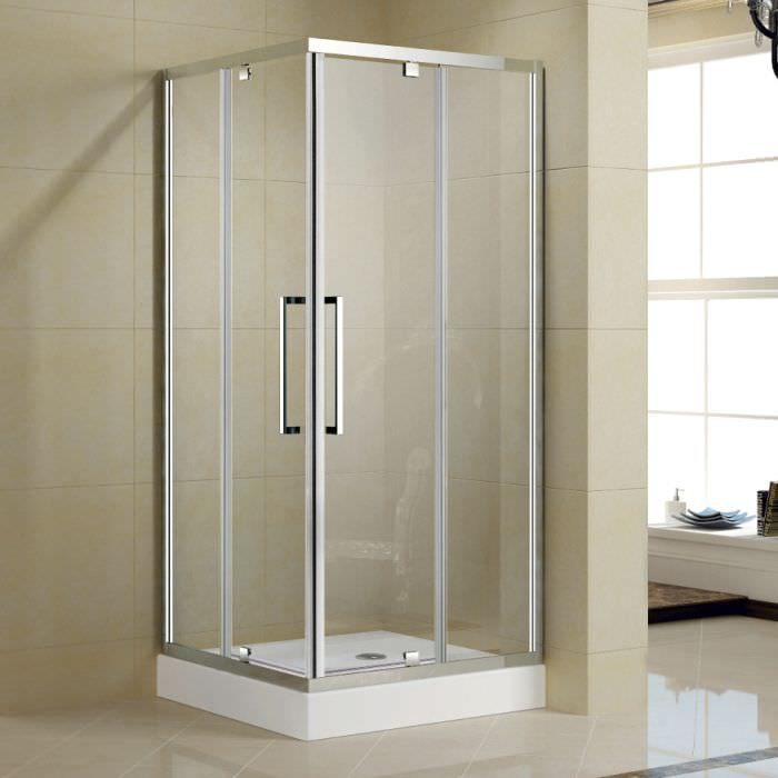 Shower Cubicle For Bathrooms With Glass Door | bano | Pinterest ...