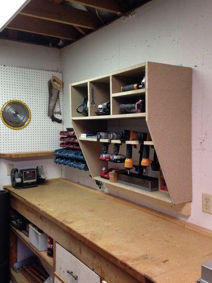 Garage Work Bench Organization Ideas