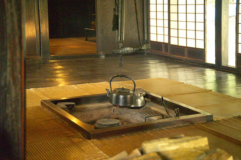 Japanese Traditional Hearth A Day In The Life Of Japan Pinterest - casa estilo japones
