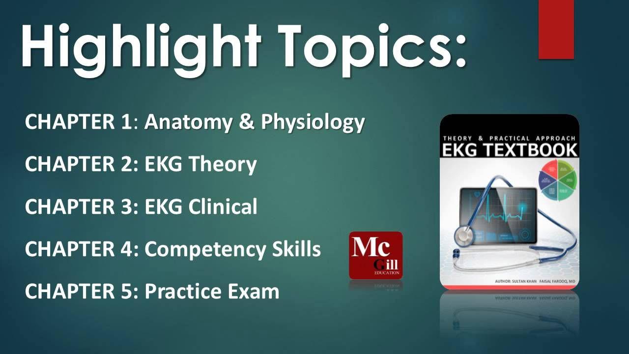 EKG Technician Training ProgramEKG Textbook ISBN