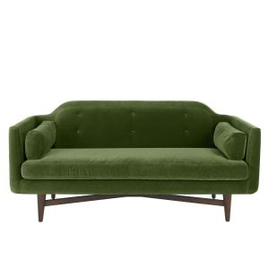 Imani Large 2 Seater Sofa, Grass Cotton Velvet | lounge and sofas ...