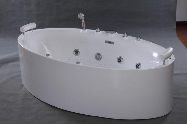 Acrylic Freestanding Whirlpool Tub | Home Bath | Pinterest | Tubs ...