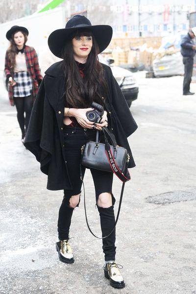 New York Fashion Week H/W 2014/15: Street-Style