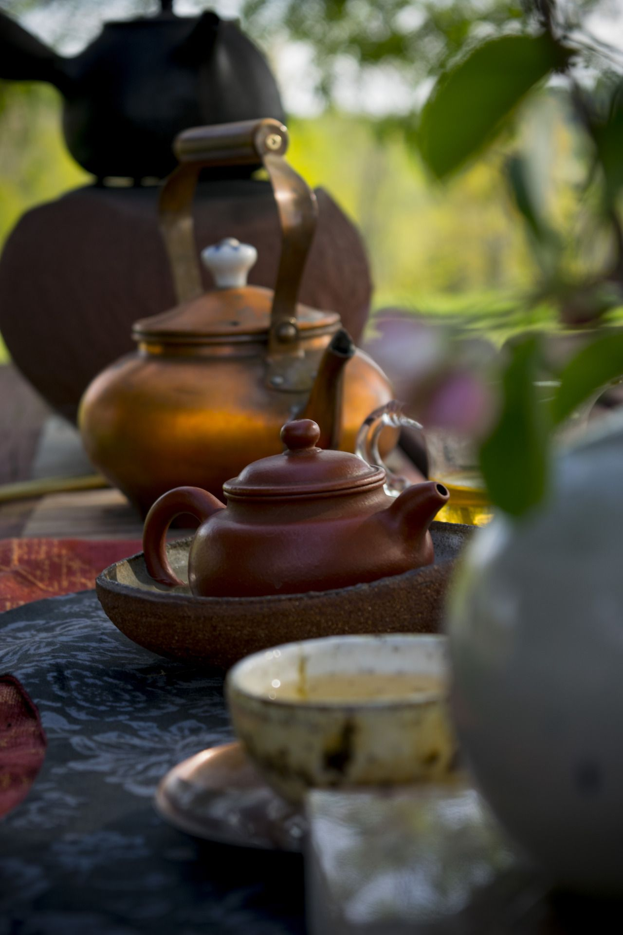 Drink like a Shark — chaxicollective: Impermanence - Tea is both...