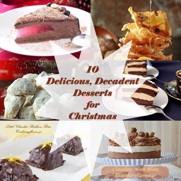 10 Christmas Desserts for Christmas Ten delicious totally decadent
