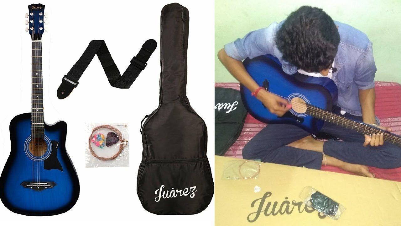 Juarez Acoustic Guitar Unboxing Review Guitar Under 2000 3000 Only On Amazon India Https Cst Acoustic Guitar Shirt Acoustic Guitar Guitar Shirts