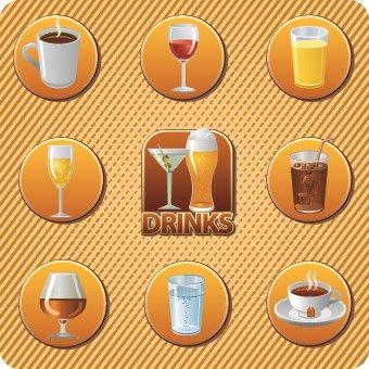 quelles sont les boissons représentées?