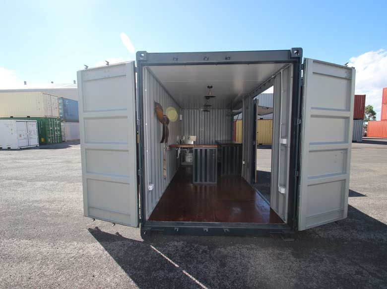 A shipping container cafe or 39 pop up cafe 39 is a great way for Isolation container maritime