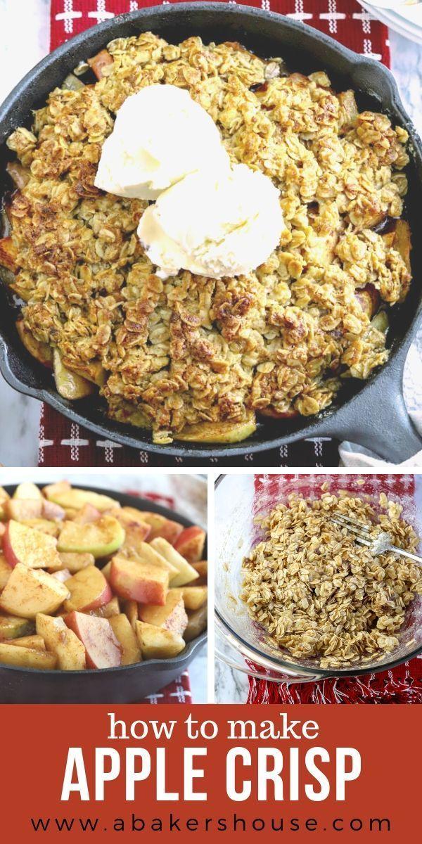 Easy Apple Crisp | A Baker's House