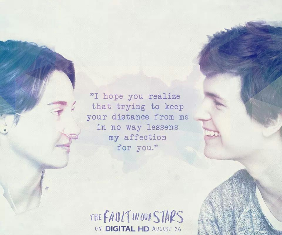 Fault in our stars quote   The fault in our stars quotes ...