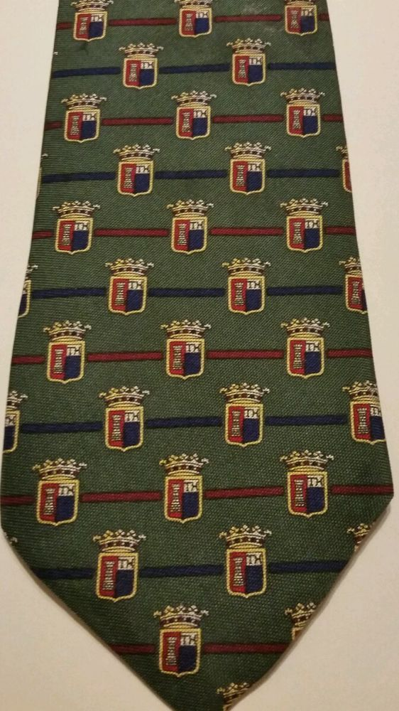 NEW Tommy Hilfiger Geometric 100% Silk Multi Color Classic Mens Neck Tie #TommyHilfiger #NeckTie