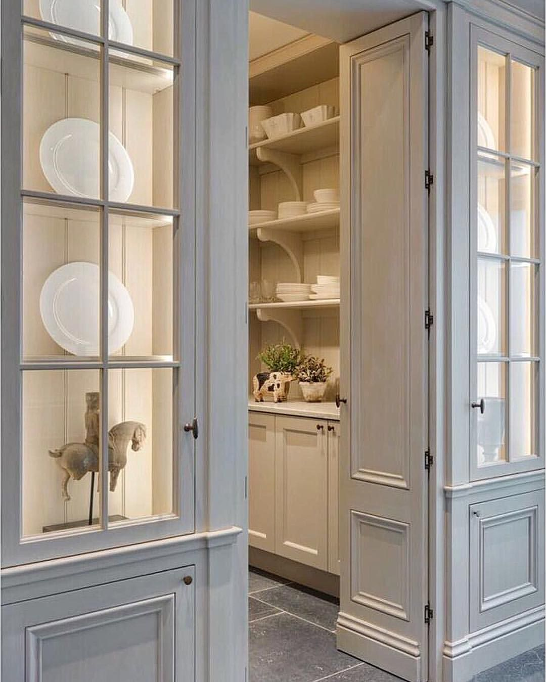 Built In Kitchen Pantry Ideas: 21 Dining Room Built-In Cabinets And Storage Design