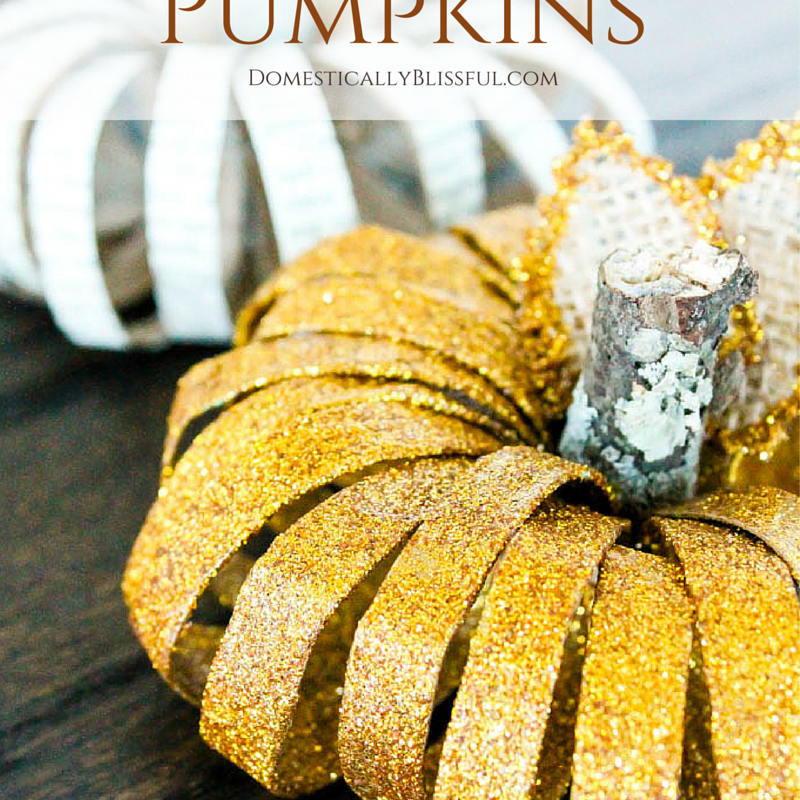 Have you seen those mason jar lid (ring) pumpkins floating around on Pinterest? They seemed to be a big hit last fall. While I thought about making one, I didn't have enough mason jar rings & I couldn't bring myself to buying them just for this project. Plus, if I had... #autumn #bookpage #buttons