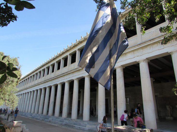 Museum of the Ancient Agora - The Stoa of Attalos #historyoftheworld