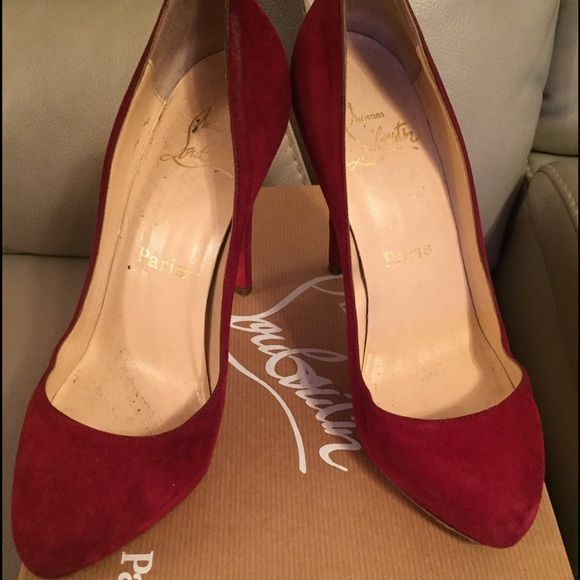 christian louboutin shoes run true to size