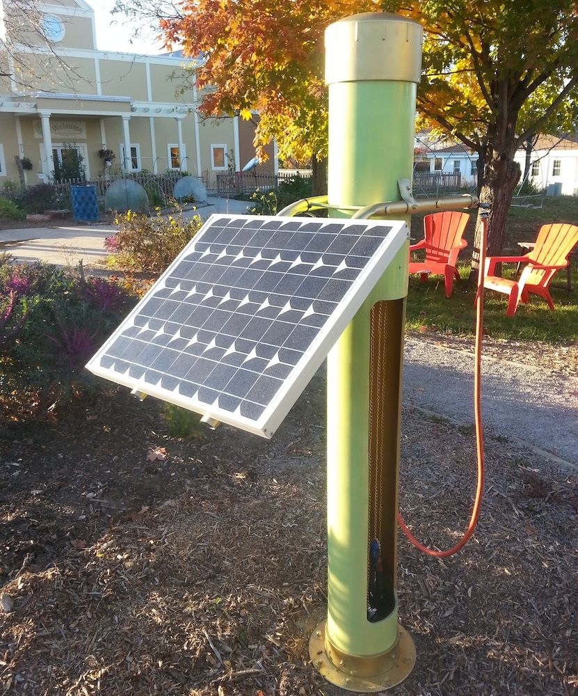 How To Build A Diy Solar Bike Station Powered Bicycle Bike Repair Diy Solar