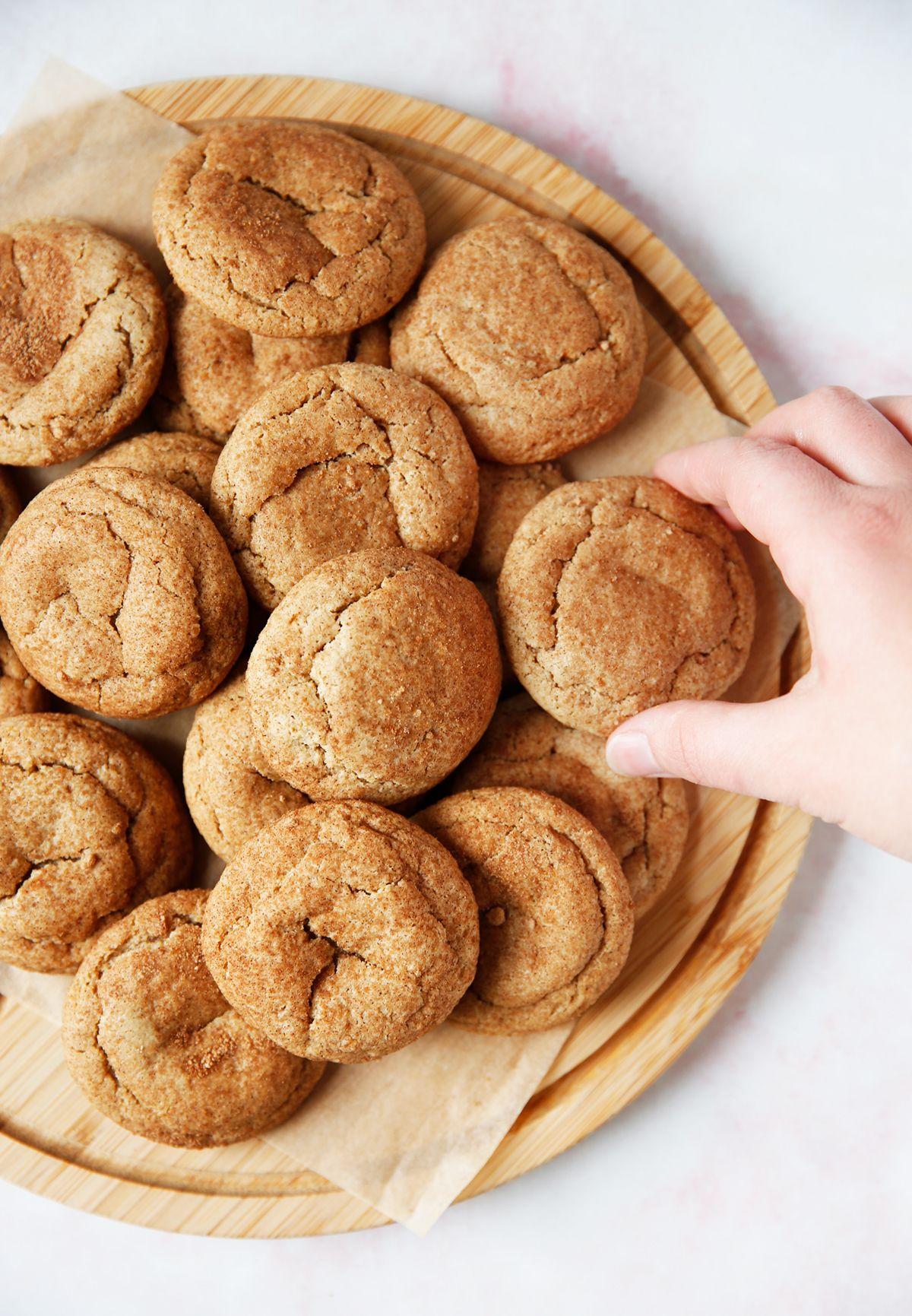 Gluten free snickerdoodles lexis clean kitchen gluten