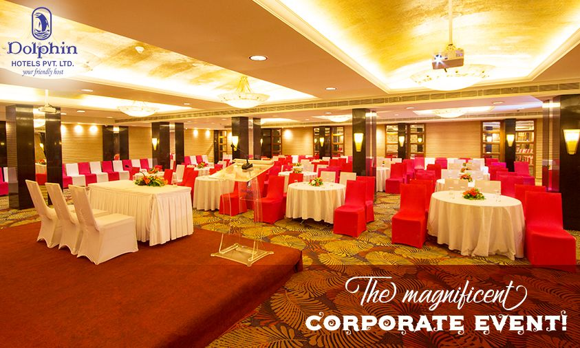 Elegant And Classic Corporate Events Exclusively At Senate Banquet Hall Dolphin Hotel Corporate Events Hotel