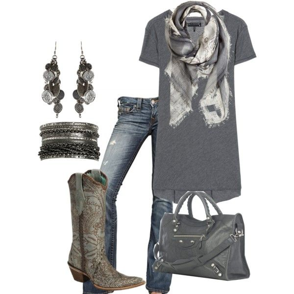 7216d7c8c87c A fashion look from August 2012 featuring rag   bone t-shirts