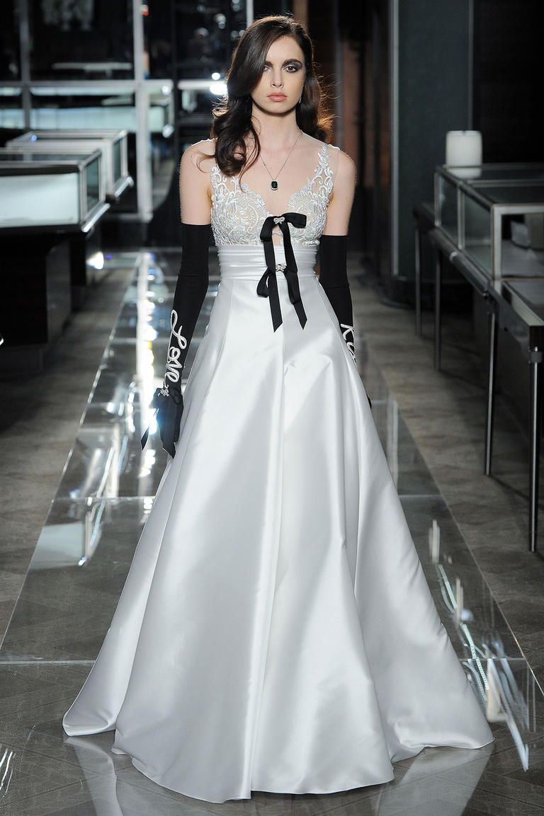 Reem acra spring glamorous gowns inspired by tiffany u co